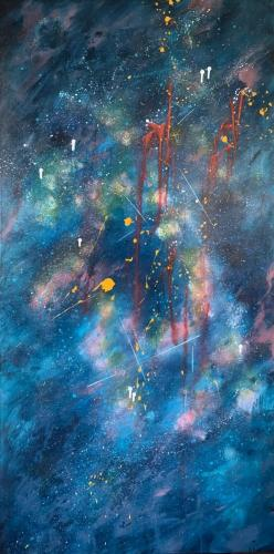 Galaxy Unknown 153x77cm $1000